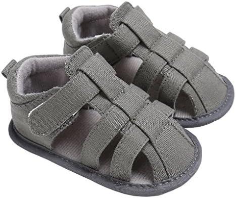 lakiolins Toddler Boys Closed Toe Anti-Slip Adventure Seekers Beach Walking Flat Shoes
