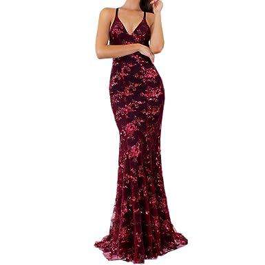 340f7344ec66 Vestidos de Fiesta Mujer Niña, Venda de Tiras de Moda Vendaje Sólido ...