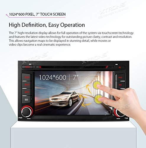 XTRONS Android 8.1 coche estéreo Octa Core 7 pulgadas HD digital ...