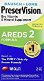 PreserVision Eye Vitamin and Mineral Supplement AREDS 2 Formula, 2Pack (180-Count Each)