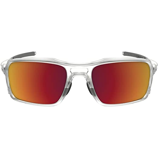 Amazon.com  Oakley Men s Triggerman Matte Clear Torch Iridium  Sports    Outdoors 6c062d4c3f