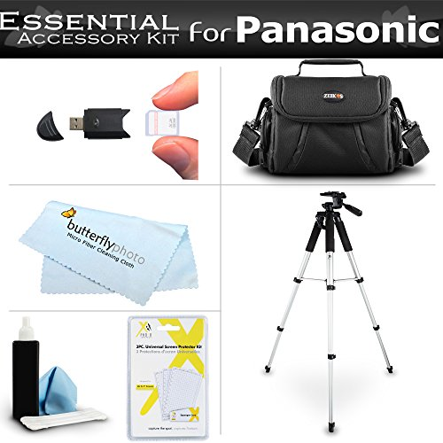 Essential Kit For Panasonic HC-V180K, HC-WXF991K, HC-W580...