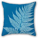 TonyLegner The Oil Painting Anna Atkins - New Zealand Throw Cushion Covers of 16 X 16 Inches / 40 by 40 cm Decoration Gift for Couch Club Birthday Kids Room Bench Valentine (Twice Sides)
