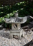 Campania International OR-144-NA Antique Pagoda Statuary, Natural Finish