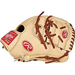 Inspired by your favorite major leaguers, the Rawlings Pro Preferred 11.75-Inch Pitcher Baseball Glove is designed with professional gameday patterns and classic color combinations. Its durable full-grain kip leather breaks in over time to fo...