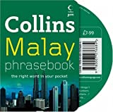 Malay Phrasebook, Collins UK Publishing Staff, 0007276680