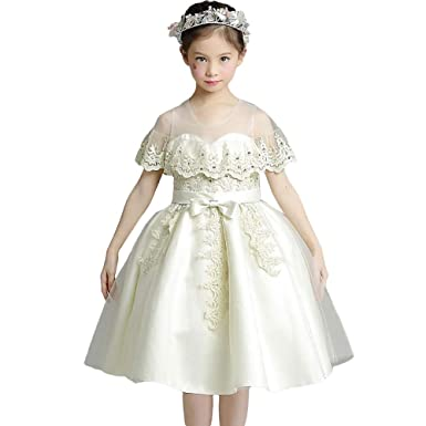 3591bb3524cfc 子どもドレス フォーマルドレス お姫様 レース ピアノ発表会 ドレス 子供ドレス フラワーガール 女の子 フォーマル