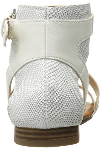 Snake Snake Women's Keystone Gladiator Sandal Chinese Laundry CL by White zgw6Aqn
