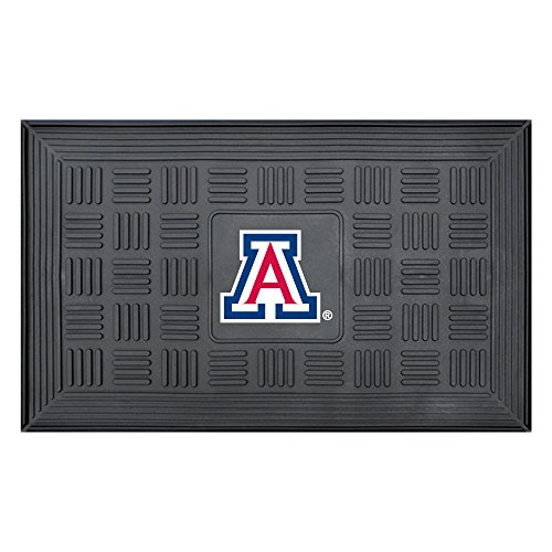NCAA University of Arizona Wildcats 3-D Team Medallion Vinyl Door - Welcome Mat Wildcats Ncaa