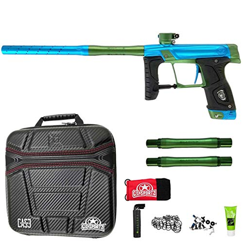 GI Sportz Stealth Paintball Marker - Electric Blue/Green