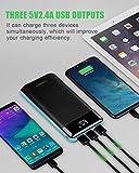 Power Bank X-DRAGON 25000mAh 3-Port USB Portable
