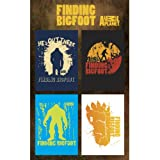 Finding Bigfoot Silhouette Magnet Set
