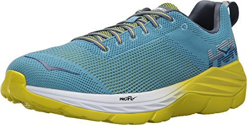 HOKA ONE ONE Men's Mach Niagara/Sulpher Spring Running Shoe 8.5 Men US