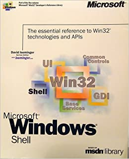 Microsoft Win32 Developer's Reference Library - SHELL