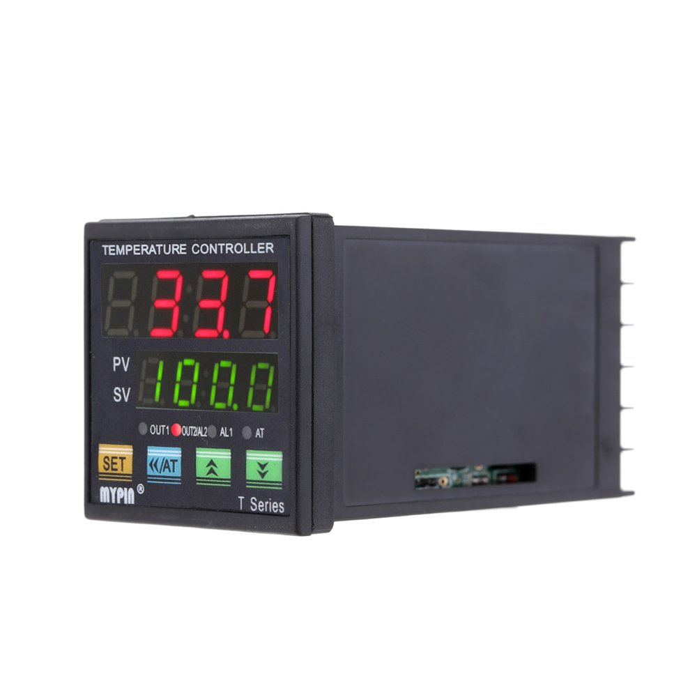 ... PID Temperature Controller Thermometer Heating Cooling Control VSR 2 Alarms Relay 10V Analog Quantity Output TC/RTD: Amazon.com: Industrial & Scientific