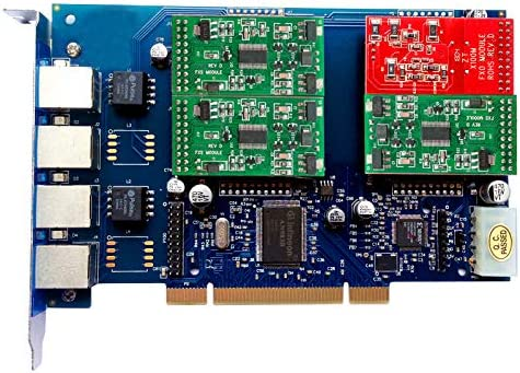 Analog Card with 3 FXO PCI-E 1 FXS Ports,PCI Express Connector,for Issabel,Freepbx