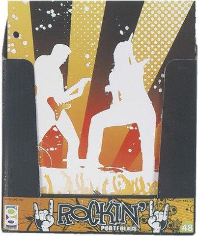 Portfolio Rockin Music 48 pcs sku# 1851268MA by DDI