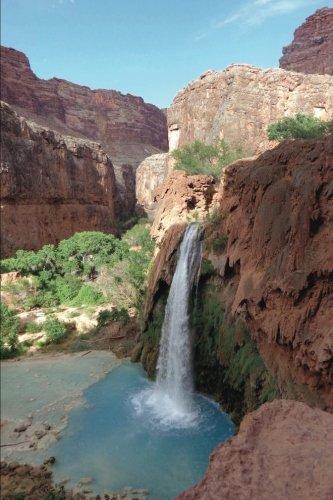 Havasu Falls Waterfalls Grand Canyon Village Arizona USA Journal: 150 Page Lined Notebook/Diary