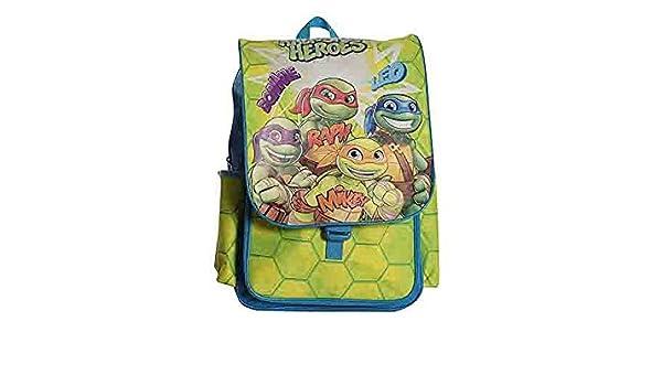 LIBERAONLINE Turtles Tortugas Ninja Mochila Escolar Mochila ...