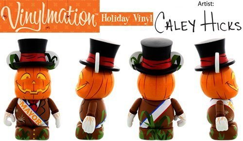 Disney Vinylmation 2013 Halloween Scarecrow Mayor 3'' Figure UNOPENED Cute ()