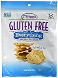 Milton's Gluten-Free Baked Crackers Everything, 4.5 Ounces Ea. (Pack of 3)