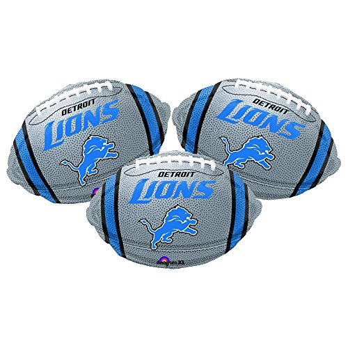 Lions Football Balloon - Detroit Lions Football Party Decoration 18