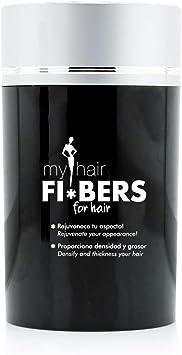 Fibras Capilares Color Negro FIBERS Black 22g - My Hair: Amazon.es: Salud y cuidado personal