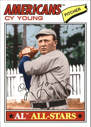 Cy Young Baseball Card - 2010 Topps Vintage Legends Collection #VLC27 Cy Young - Baseball Card
