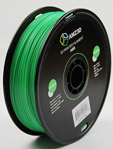 Used, AMZ3D 1.75mm Green ABS 3D Printer Filament - 1kg Spool for sale  Delivered anywhere in Canada