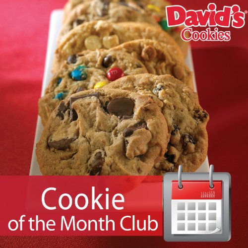 Butterscotch Pecan Cookies - Monthly Clubs (Cookie Of The Month Club 6 Months 1 LB.)