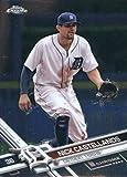 2017 Topps Chrome #68 Nick Castellanos Detroit Tigers Baseball Card