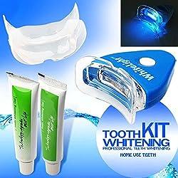 Judariy Professional Teeth whitening Light Kit Whitening Tool Natural Teeth Gel Whitener Toothpaste - Dental Oral Care Home day white teeth whitening gel