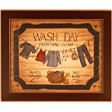 Wash Day Laundry Room Decor Linda Spivey Framed Print