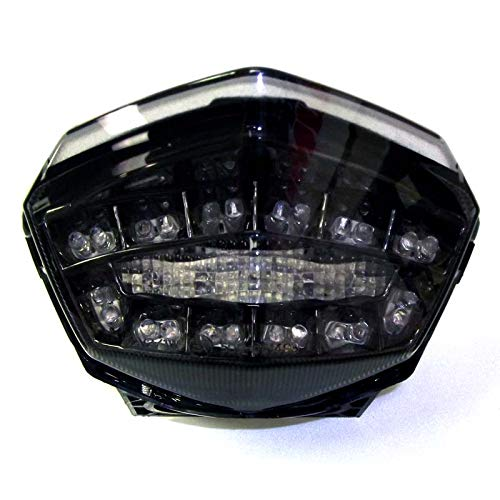 2008-2012 Kawasaki Ninja 250R Smoked Integrated LED Tail Light - 905-4119D
