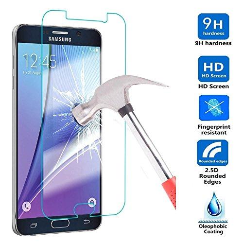 myTech® Samsung Galaxy S7 Schutzglas Hartglas Panzerglas Folie Echtglas Glas 100% Displayschutz Schutzfolie Panzerfolie Displayschutzfolie Premium 0,3mm Tempered Glass Screen Protector