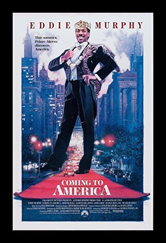 Coming to America - 11x17 Framed Movie Poster by Wallspace