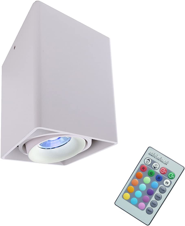 Lámpara de techo LED RGB 3 W CROMOTERAPIA a techo lámpara ...