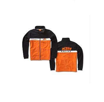 Nuevo equipo de KTM 3pw135584 grandes de la chaqueta de forro polar con cremallera para hombre: Amazon.es: Deportes y aire libre