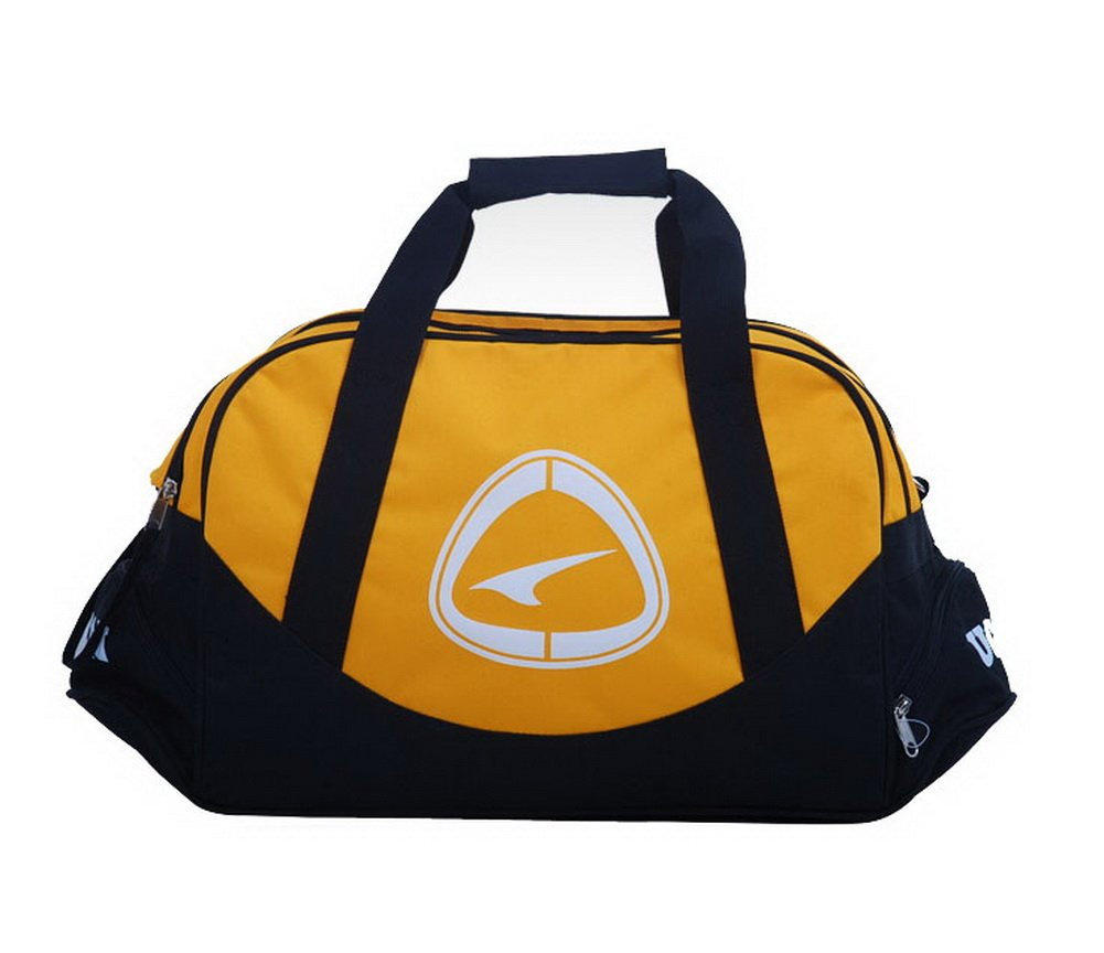 Yellow Duffle Bag Football Equipment Bag, 19.7'' 19.7'' PANDA SUPERSTORE PS-SPO3410311-EMILY00751