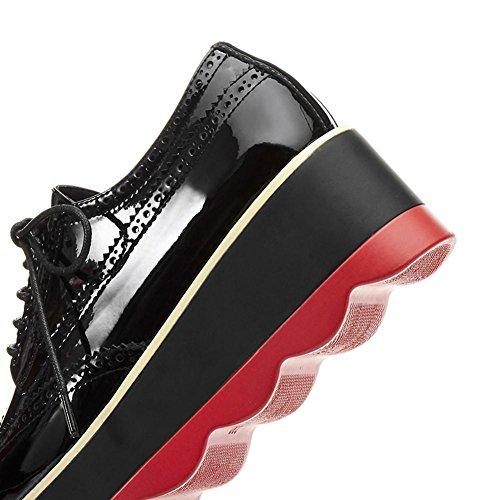 Salón A0611 Serie De Plataforma Red Cerrada Mujeres WSXY Zapatos con KJJDE Vintage ZXqvUTx
