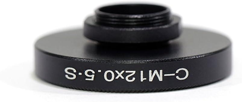 Pixco Aluminum CS or C Mount Lens to M12 All-Metal Lens Adapter Ring