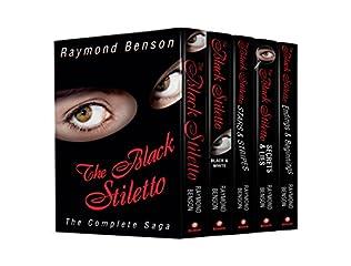 book cover of The Black Stiletto: The Complete Saga
