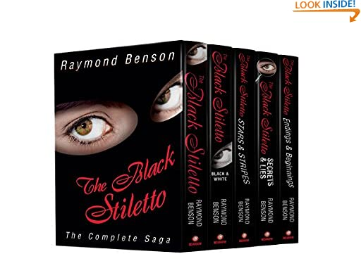 The Black Stiletto: The Complete Saga (The Black Stiletto Series, Books 1-5) by Raymond Benson