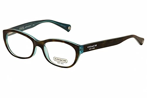 29e8ea2a27b0 Eyeglasses Coach 0HC6041 5116 DARK TORTOISE/TEAL: Amazon.ca: Jewelry