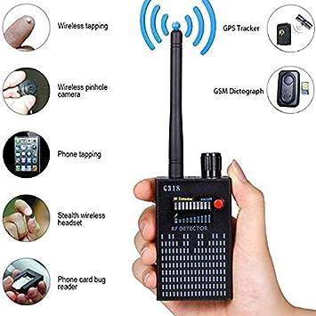 Versteckte Kamera Laser Finder Tracker Anti-Spionsignal Bug RF Detector Device