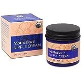 Motherlove Nipple Cream Certified Organic Salve for Sore Cracked Nursing Nipples, 1 Oz.