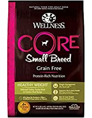 Wellness Core Natural Grain Free Dry Dog Food Small Breed Healthy Weight