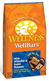 Wellness WellBars Crunchy Wheat Free Natural Dog Treats, Whitefish & Sweet Potato, 20-Ounce Box