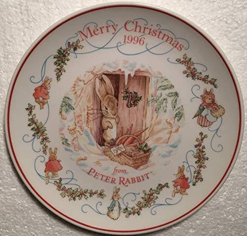 Wedgwood Peter Rabbit Christmas Plate 1996