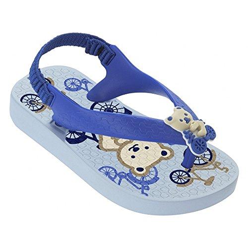 Ipanema Temas III Baby 81568 Mädchen Zehenstegsandale blau (light blue/blue)